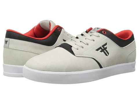 Fallen - The Vibe (Newsprint Grey/Flat Black) Men's Skate Shoes
