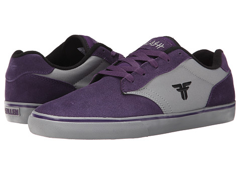 Fallen - Slash (Deep Purple/Cement Grey) Men's Skate Shoes