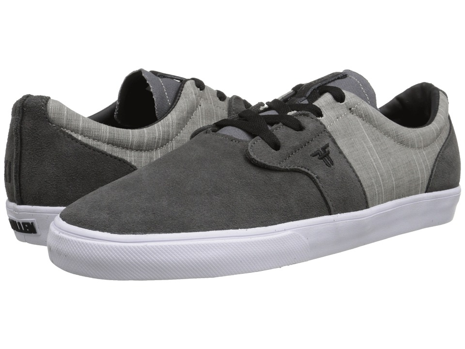Fallen - Chief XI (Ash Grey/Cement Grey) Men's Skate Shoes