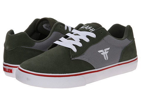 Fallen - Slash (Surplus Green/Cement Grey) Men's Skate Shoes