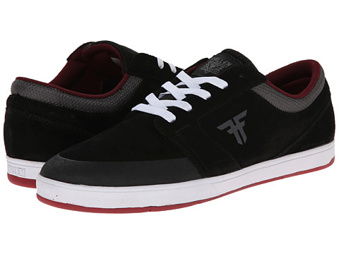 Fallen - Torch (Black/Ash Grey) Men's Skate Shoes
