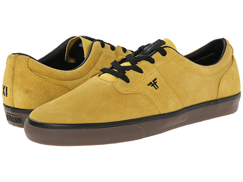 Fallen - Chief XI (Dark Yellow/Gum) Men's Skate Shoes