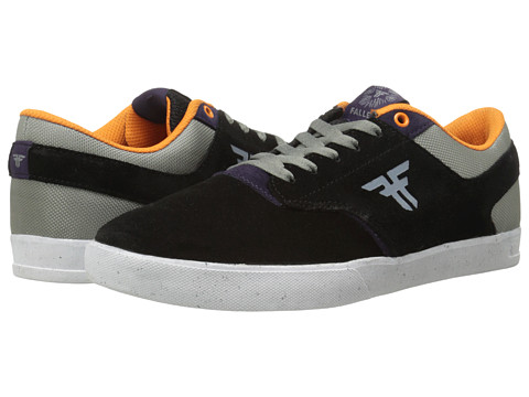 Fallen - The Vibe (Black/Deep Purple) Men's Skate Shoes