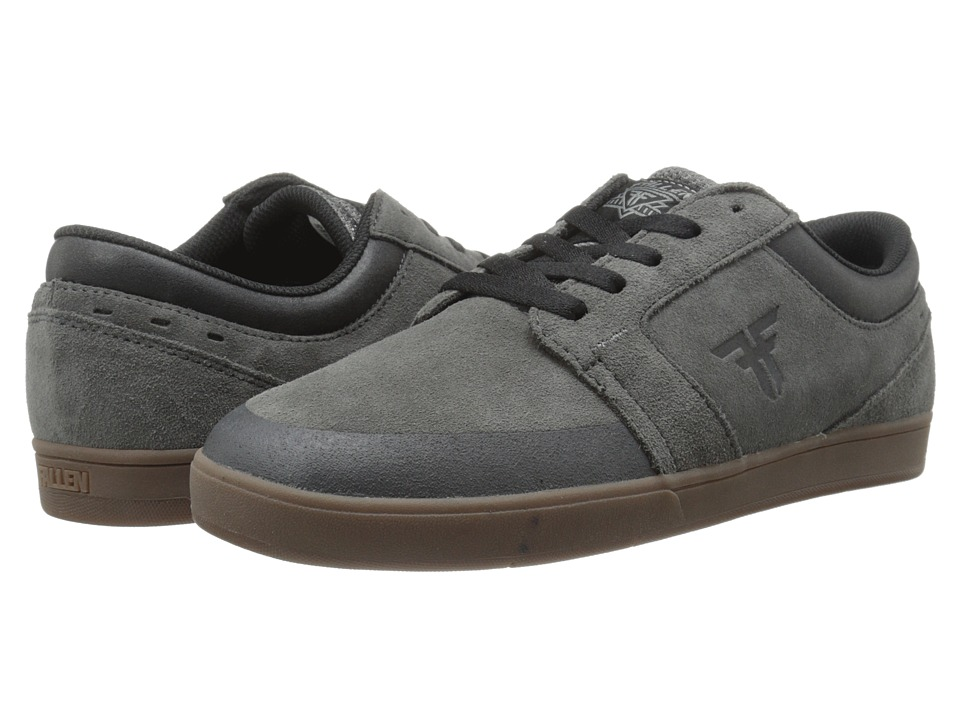 Fallen - Torch (Ash Grey/Gum) Men's Skate Shoes