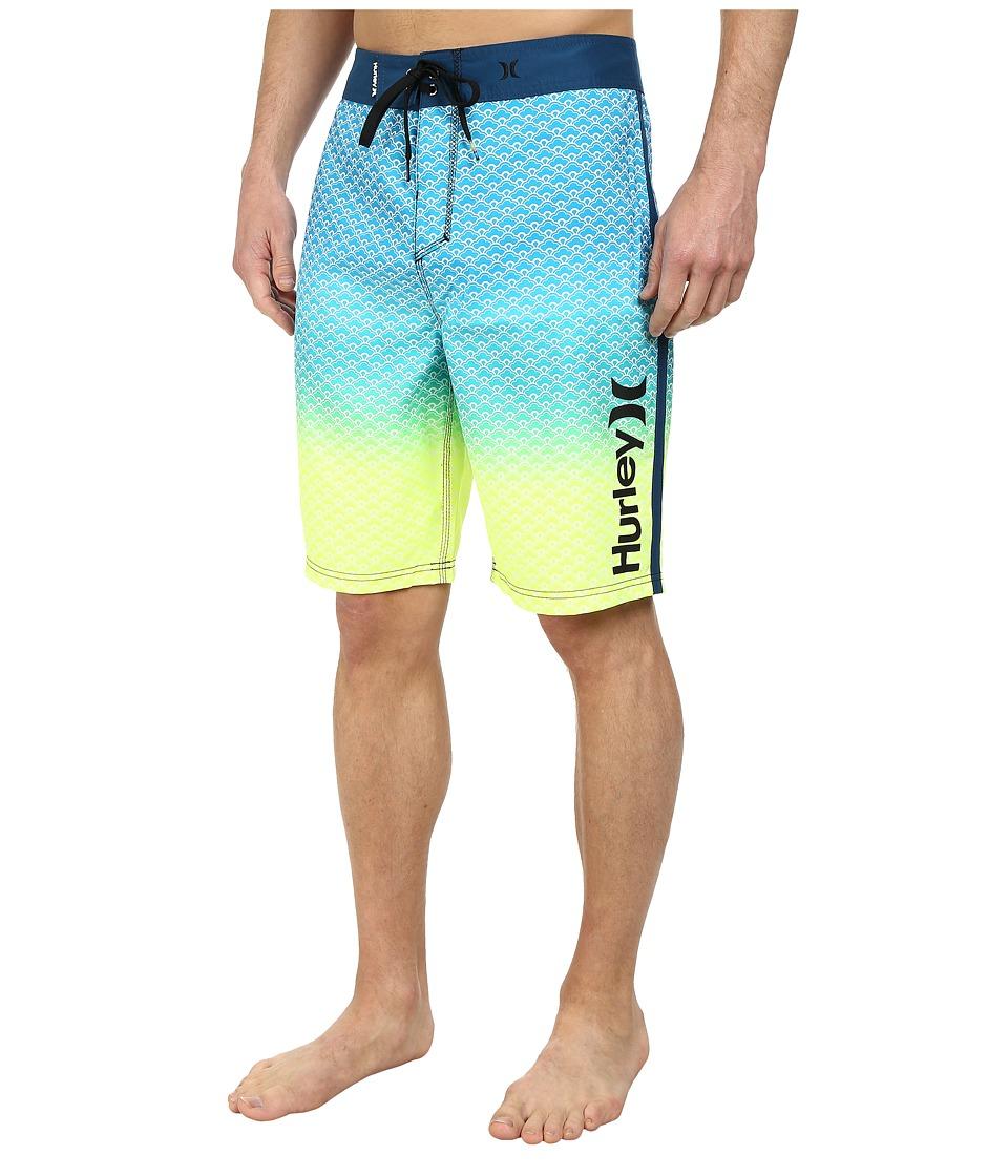 Hurley - Scallops 21 Boardshort (Blue Force) Men's Swimwear