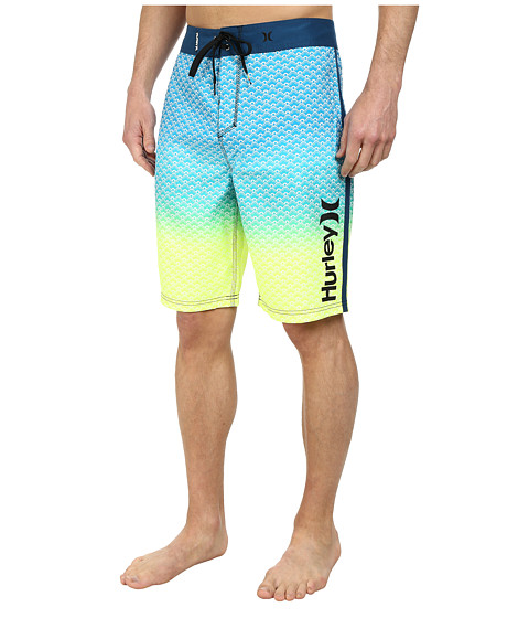 Hurley - Scallops 21 Boardshort (Blue Force) Men's Swimwear