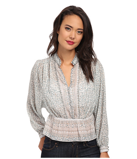 Free People - If I Had You Top (Glacier Combo) Women's Blouse