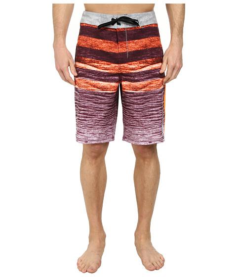 Hurley - Phantom Ripple 21 Boardshort (Total Orange) Men
