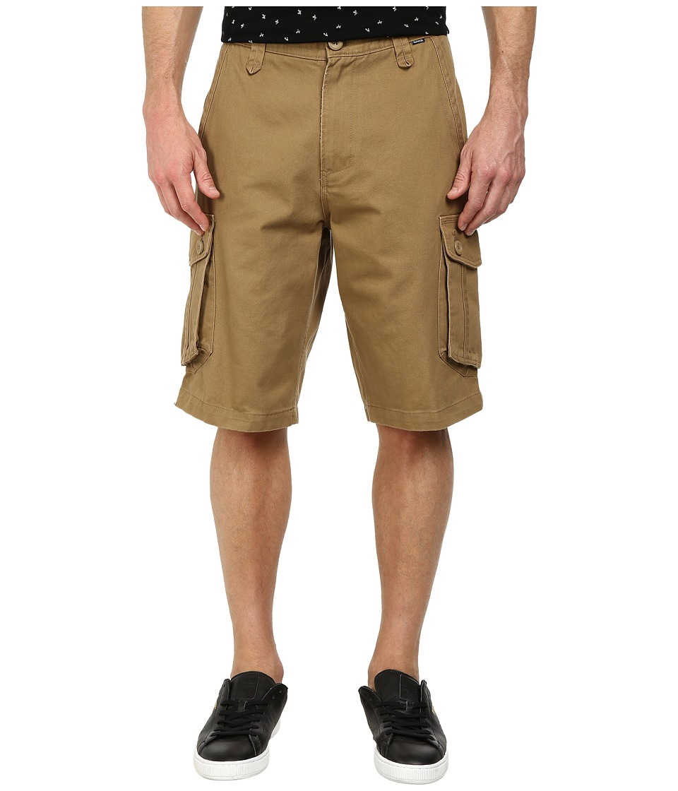 Hurley - One Only Cargo Short (Cardboard Khaki) Men's Shorts