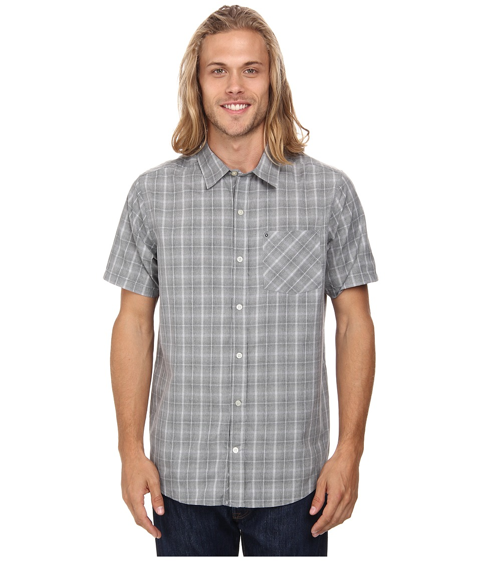 Hurley - Dri-Fit Nova S/S Woven (Black) Men's Short Sleeve Button Up