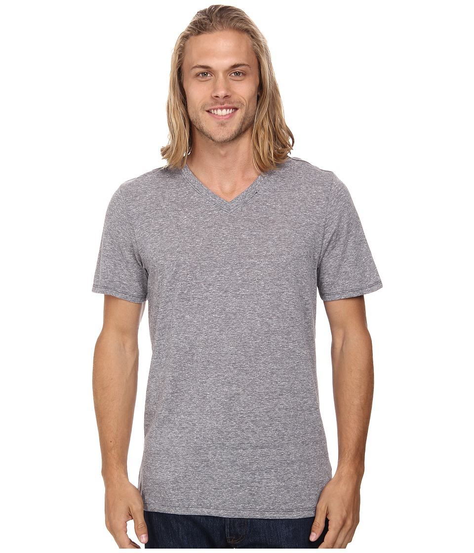 Hurley Staple Tri-Blend V-Neck (Charcoal) Men