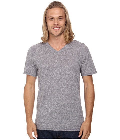 Hurley - Staple Tri-Blend V-Neck (Charcoal) Men