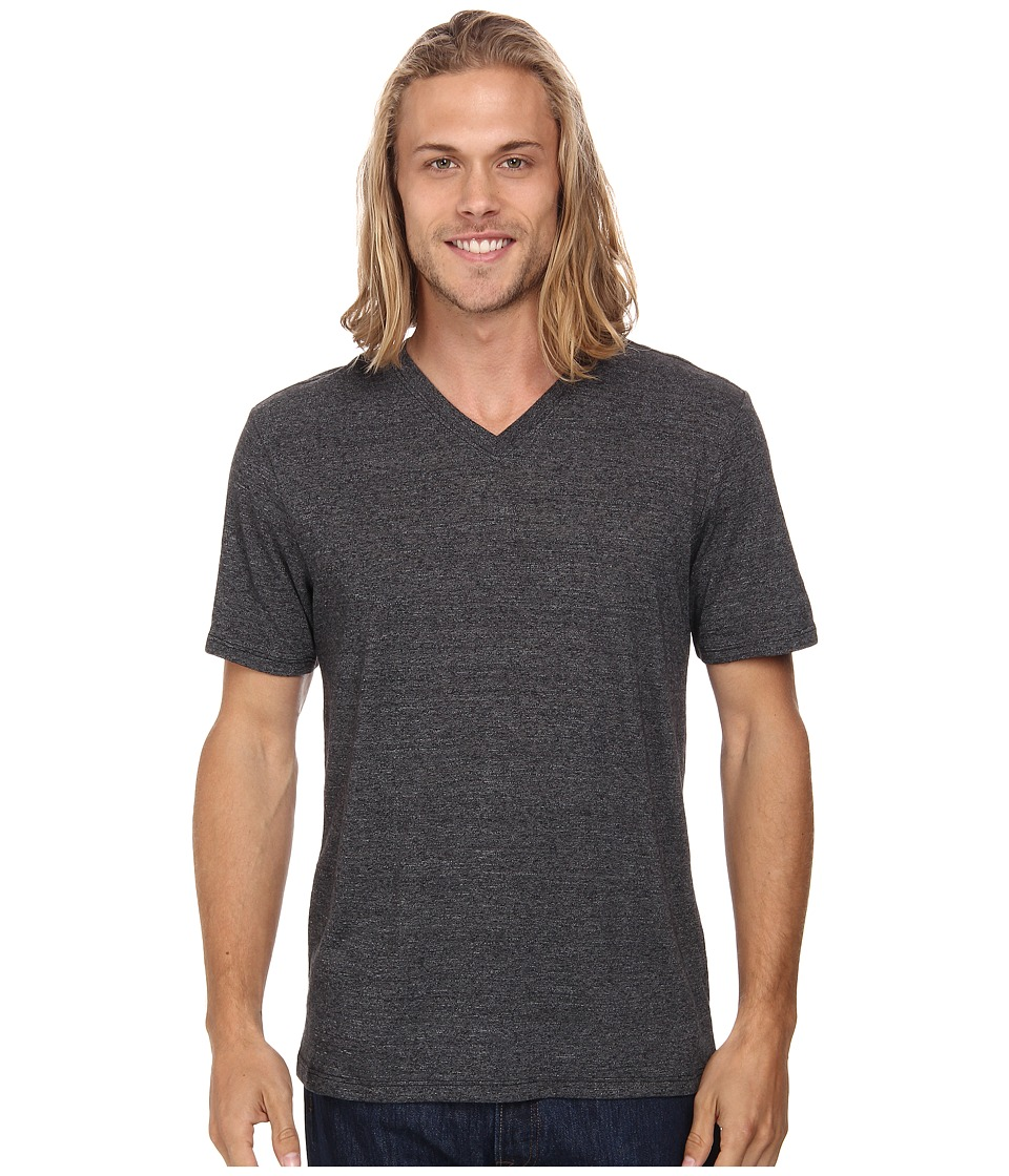 Hurley Staple Tri-Blend V-Neck (Grey Black) Men
