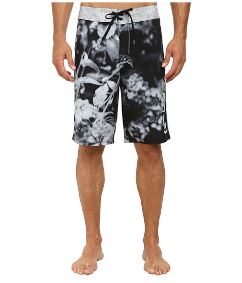 Hurley - Phantom Original 3 21 Boardshort (Black) Men's Swimwear