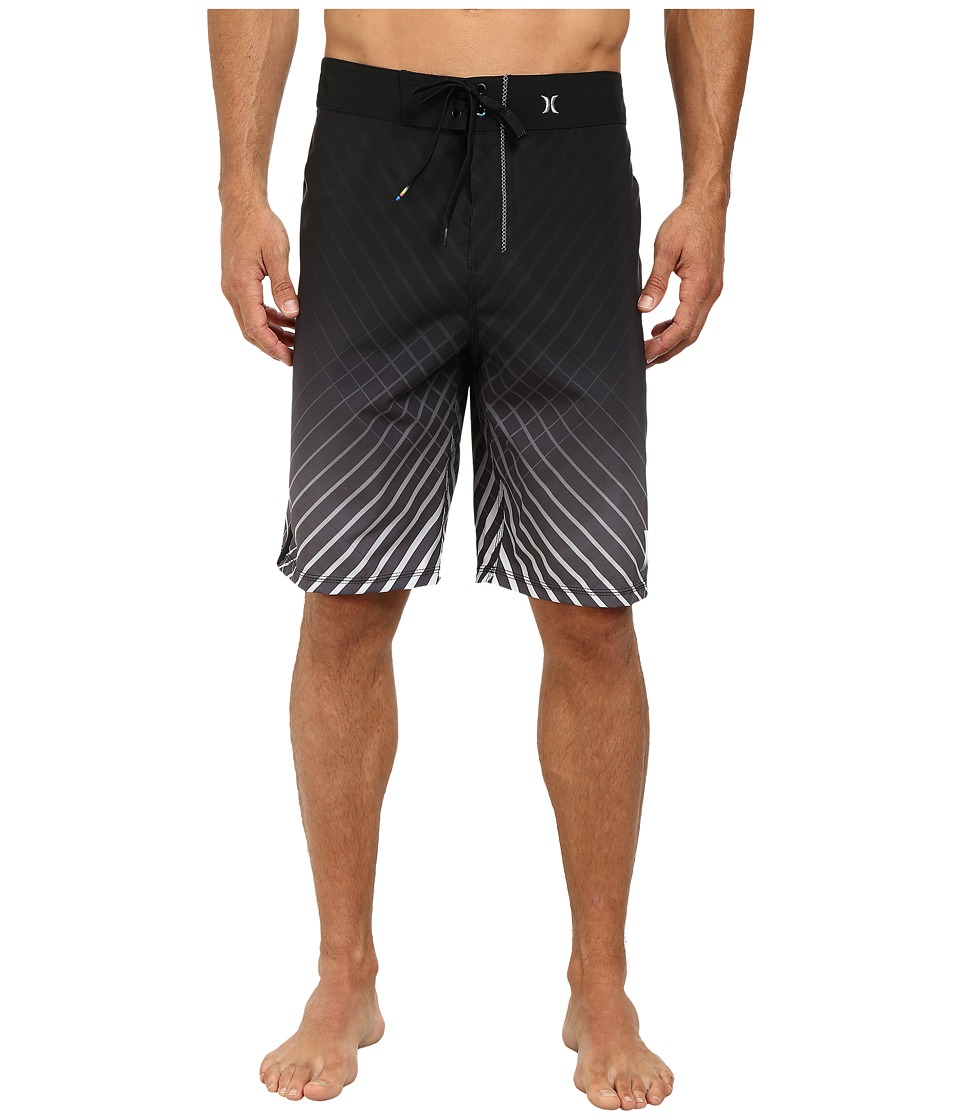 Hurley - Phantom Crossfire 21 Boardshort (Black) Men's Swimwear