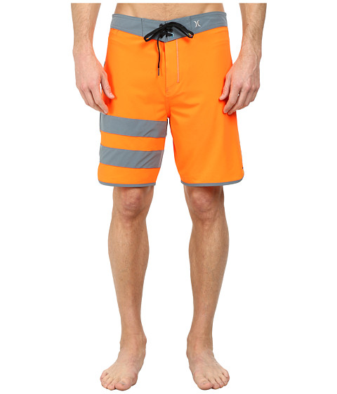 Hurley - Phantom 60 Block Party Boardshort (Total Orange A) Men's Swimwear