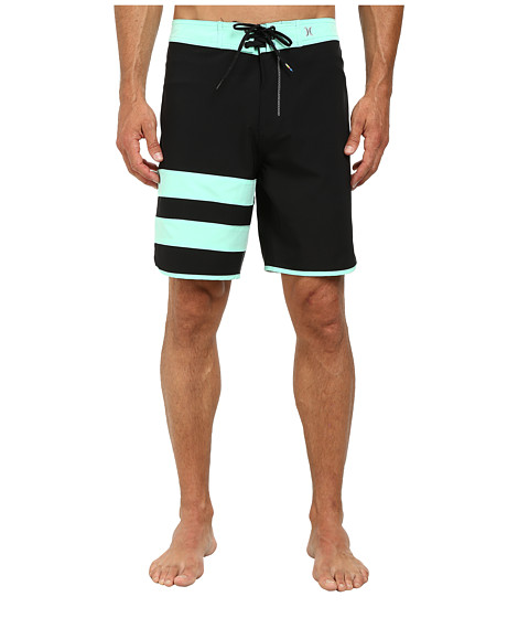 Hurley - Phantom 60 Block Party Boardshort (Green Glow) Men's Swimwear