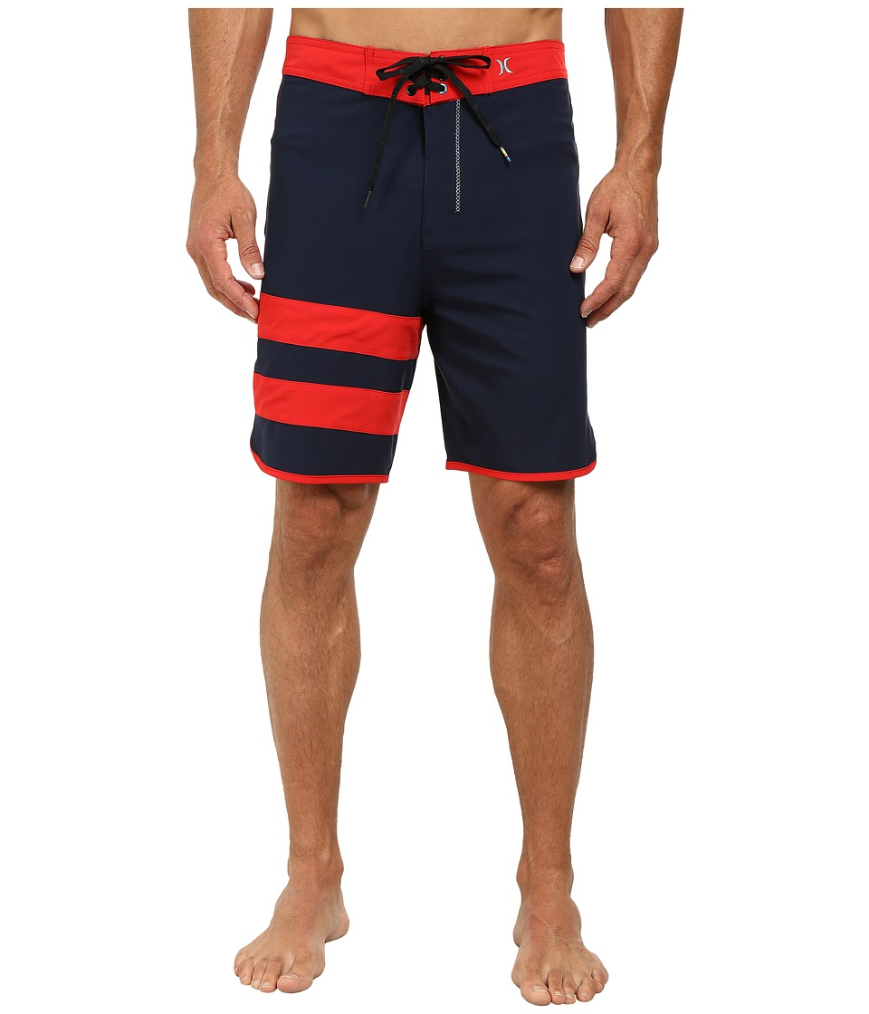 Hurley - Phantom 60 Block Party Boardshort (Obsidian) Men's Swimwear