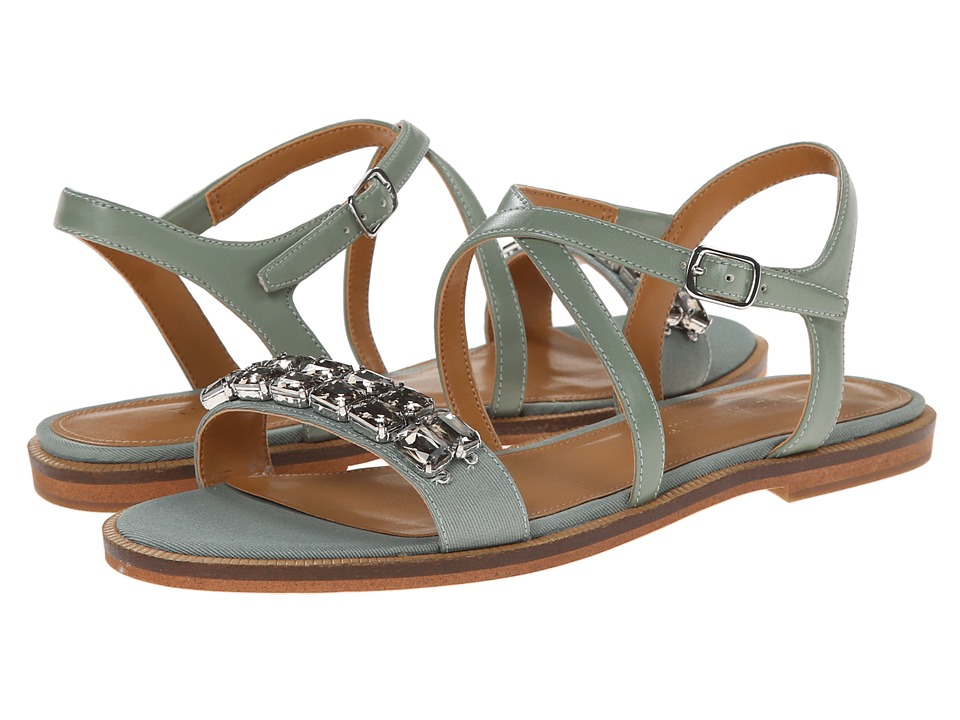 Enzo Angiolini - Jewelana (Green/Green Synthetic) Women's Dress Sandals