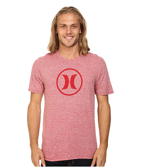 Hurley - Icon Tri-Blend Tee (Gym Red) Men's T Shirt