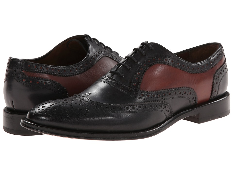 Messico - Toledo (Black/Cognac Leather) Men's Shoes