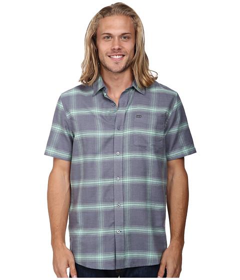 Hurley - Solano S/S Woven (Cool Grey) Men