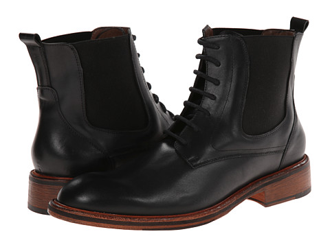 Messico - Alessandro (Black Leather) Men's Shoes