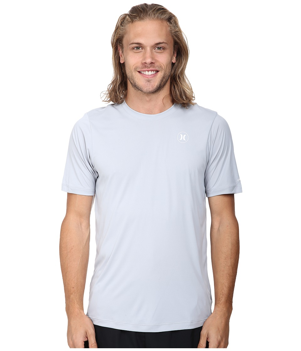 Hurley - Dri-Fit Icon S/S Surf Shirt (Wolf Grey) Men