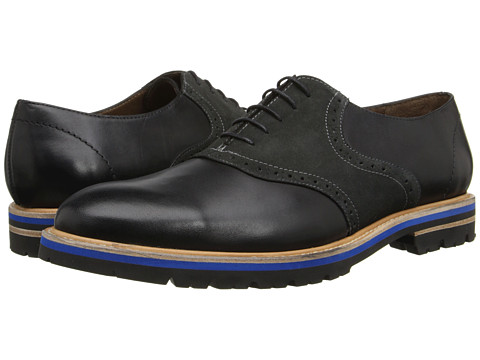Messico - Franco (Black/Grey Leather) Men's Shoes