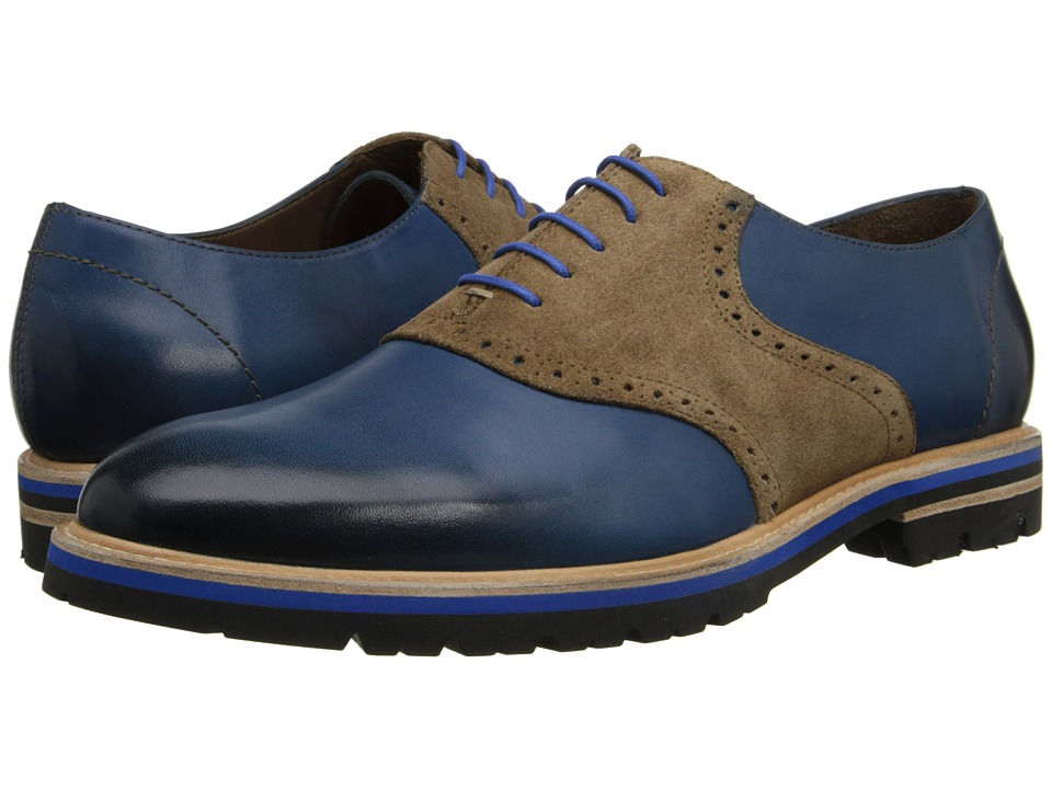 Messico - Franco (Navy/Beige Leather) Men's Shoes