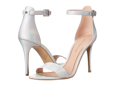 Enzo Angiolini - Manna (Silver Leather) High Heels