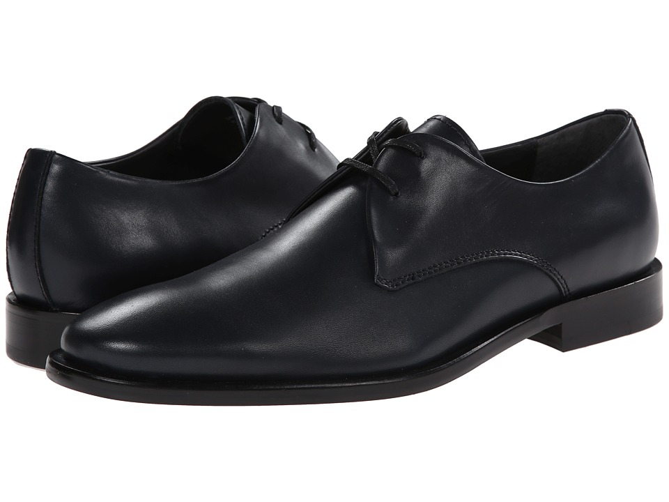 Calvin Klein - Ryland (Navy Leather) Men's Lace up casual Shoes