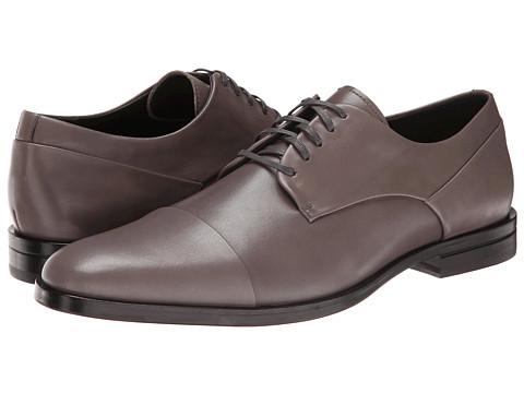 Mens Shoes Calvin Klein Kipp Pewter Leather