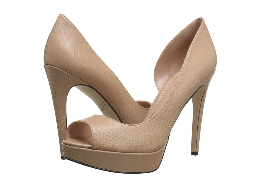 Enzo Angiolini Acacia (Light Natural Synthetic) High Heels