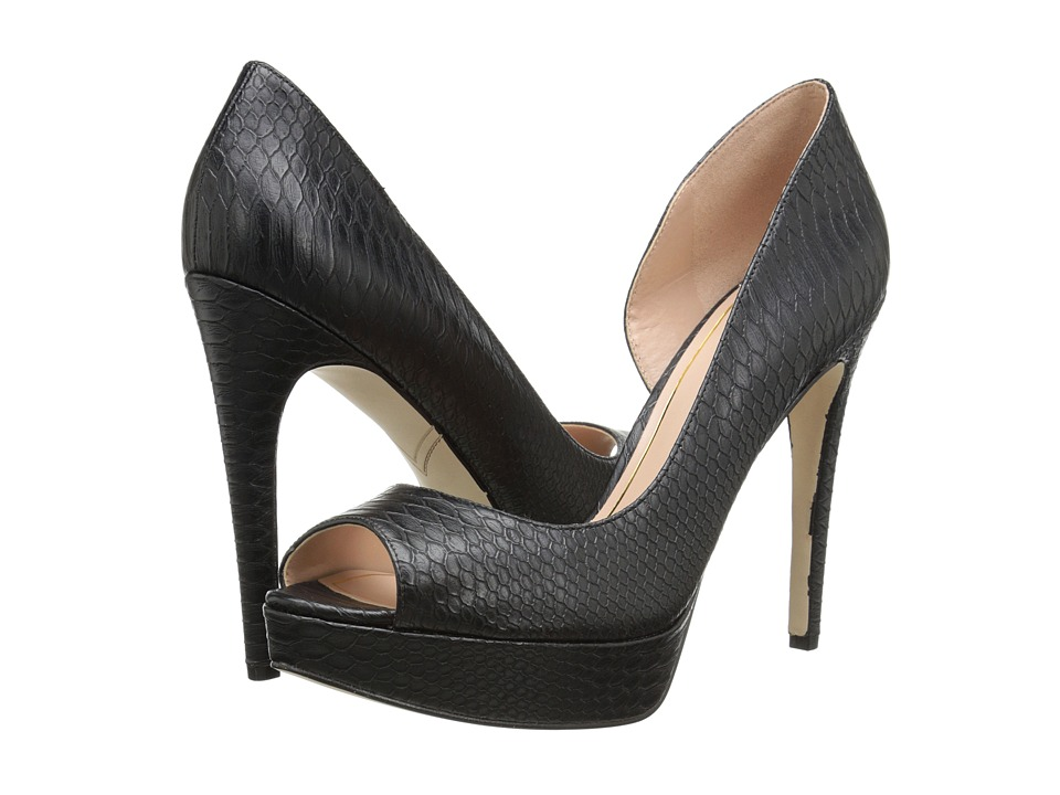 Enzo Angiolini Acacia (Black Synthetic) High Heels