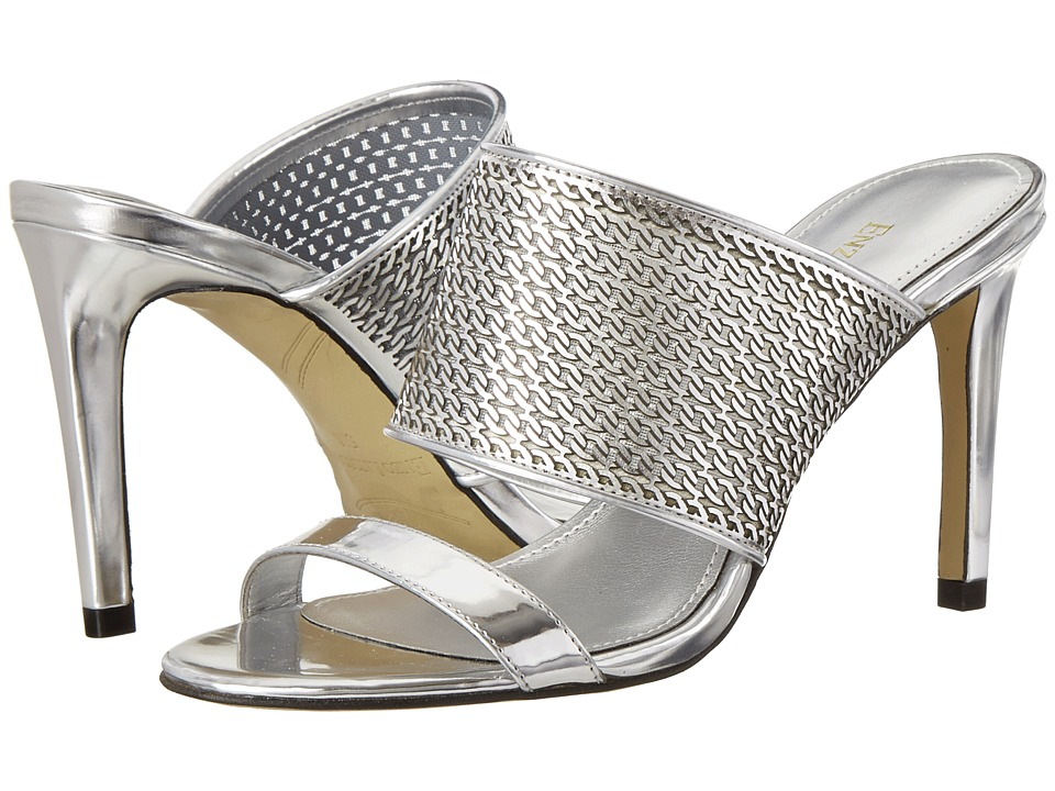 Enzo Angiolini Arianne (Silver Synthetic) High Heels
