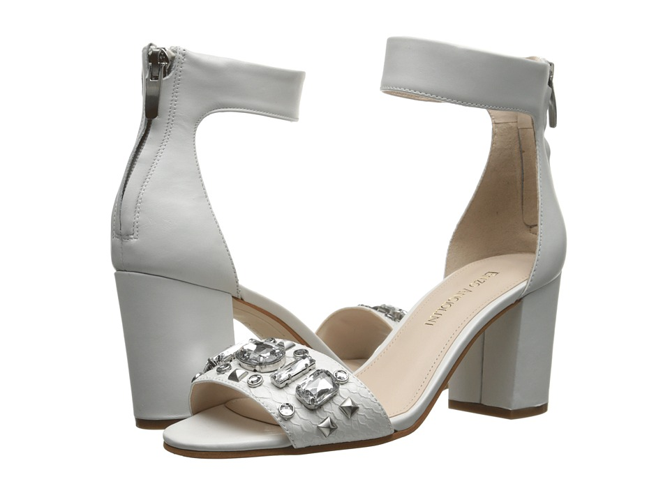 Enzo Angiolini Gavenia (White/White Leather) High Heels
