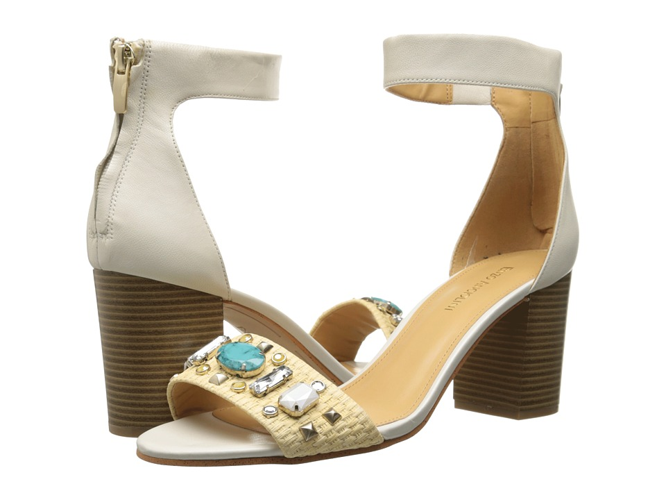 Enzo Angiolini Gavenia (White/Natural Leather) High Heels