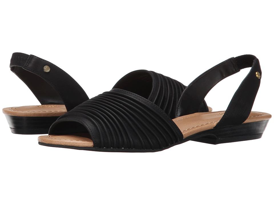 Bass - Cadence (Black Semi Nubuck) Women's Sandals