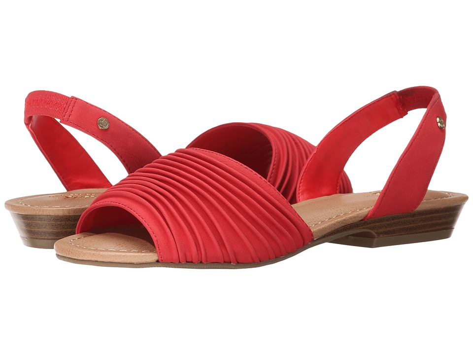 Bass - Cadence (Cardinal Red Semi Nubuck) Women's Sandals