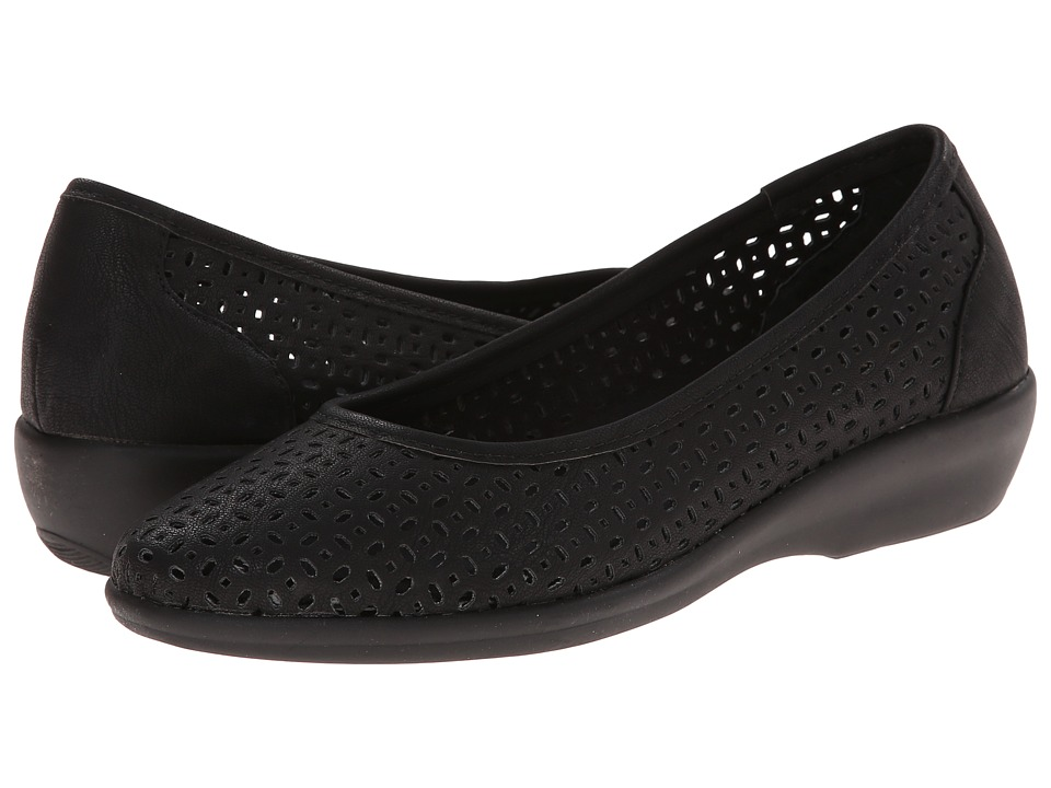 Bass - Broadway (Black Nubuck) Women's Sandals