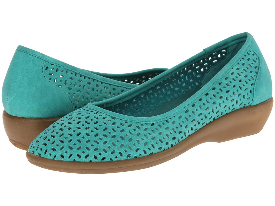 Bass - Broadway (Patina Green Nubuck) Women