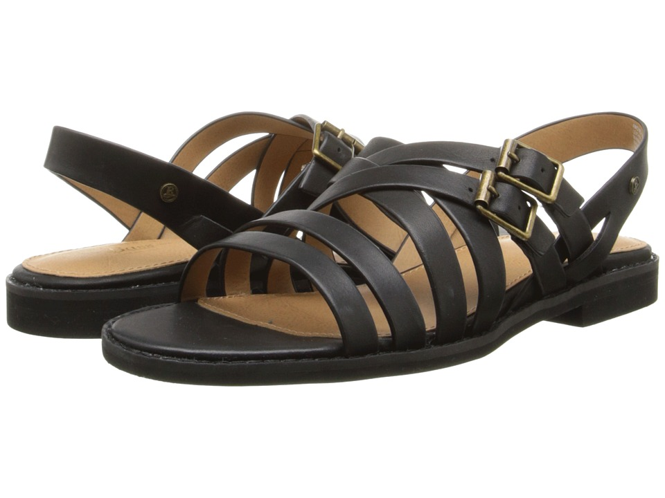 Image of Bass - Amidy (Black Atanado Leather) Women's Sandals