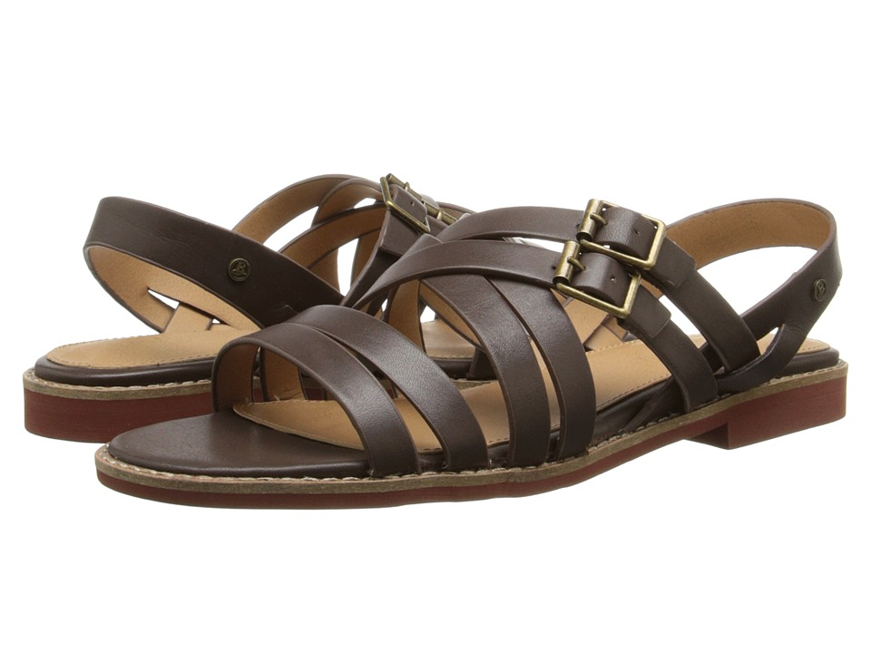 Image of Bass - Amidy (Cocoa Atanado Leather) Women's Sandals