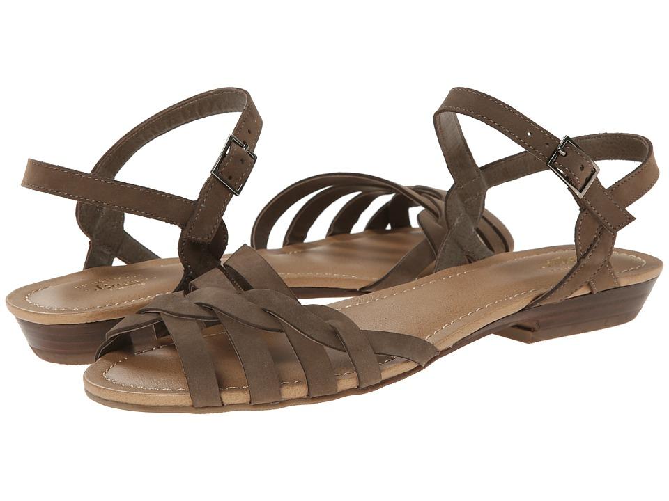 Bass - Clementine (Sea Rock Nubuck) Women's Sandals