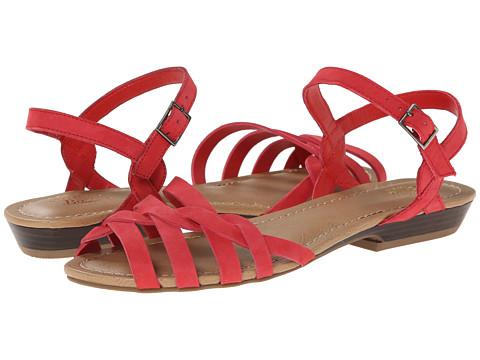 Bass - Clementine (Cardinal Red Nubuck) Women's Sandals