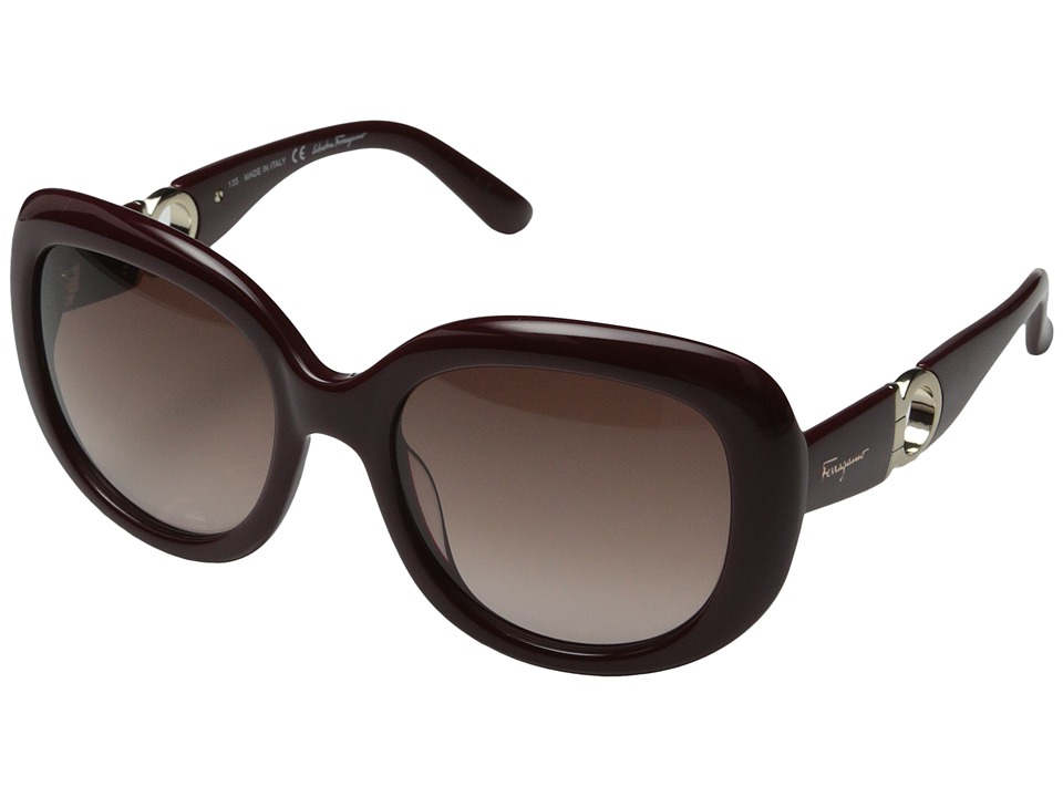 Salvatore Ferragamo - SF727S (Burgundy) Fashion Sunglasses