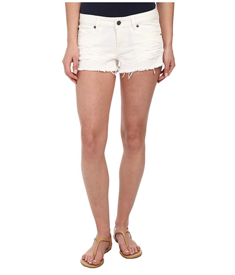 Volcom - Yae Cut Off Short (White) Women's Shorts