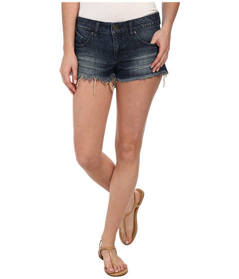 Volcom - Yae Cut Off Short (Free Blue) Women's Shorts