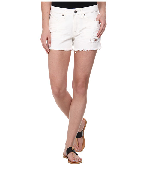 Volcom - Stoned Cut Off Short (White) Women's Shorts